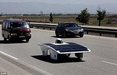 太阳能车更进一步 科学家研发新型燃料电池