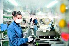 湖北宜昌市宇隆新能源公司锂电池全线生产