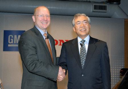 通用和本田携手研发新一代燃料电池技术