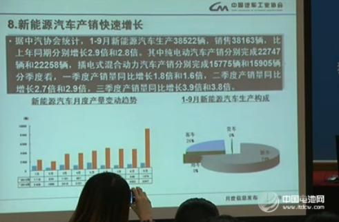 1-9月新能源汽车生产38522辆 销售38163辆