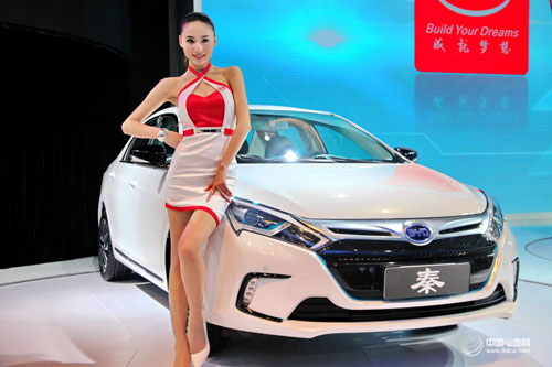 全球十大电动车销量排行榜:比亚迪秦挺进前三甲