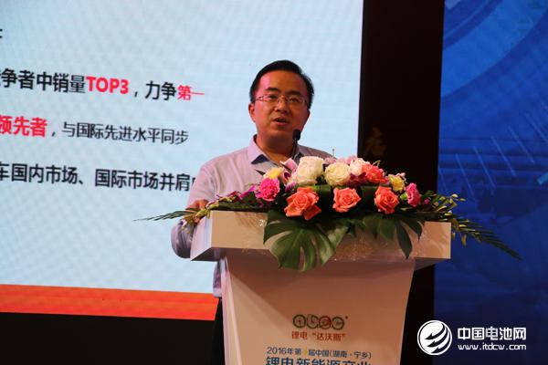 倪绍勇: 以技术为先导 打造奇瑞新能源汽车核心竞争力