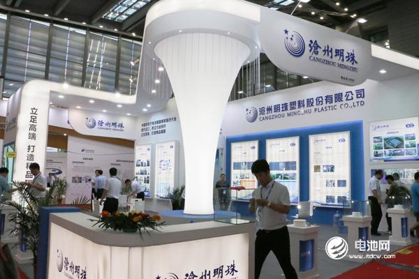沧州明珠亮相CIBF 2018 致力于综合型锂电隔膜制造