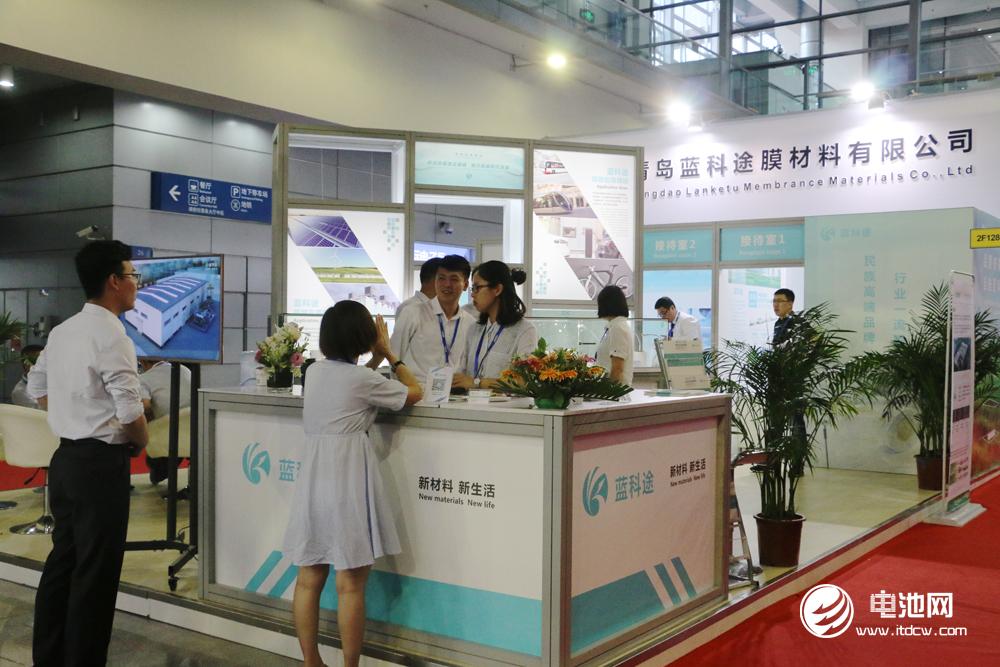 打造国产高端锂电隔膜品牌 蓝科途亮相CIBF 2018