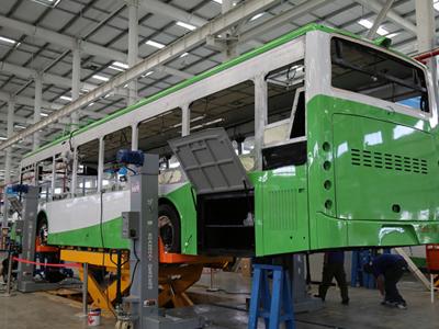 6月将生产K8S纯电动双层巴士 比亚迪客车西安工厂参观小记