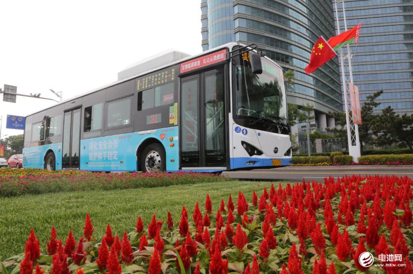 向世界展示中国方案 比亚迪客车赞助上合组织青岛峰会
