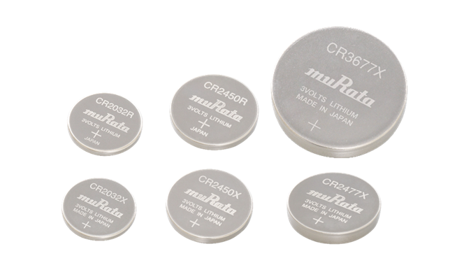 """村田新增""""大电流型""""和""""准耐热型""""硬币型锂电池 明年1月量产"""