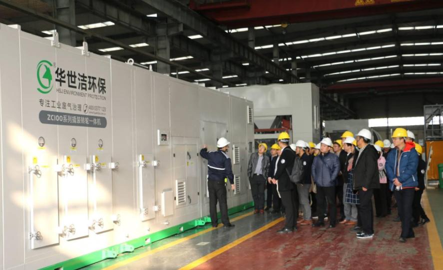 一日纵览锂电新能源全产业链 ABEC 2018论坛嘉宾青岛参观收获满满