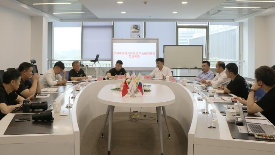 2021年中国电池新能源产业链调研行(江浙站)圆满结束