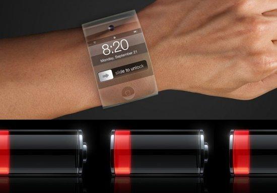 苹果获曲面电池专利 或用于iWatch智能手表