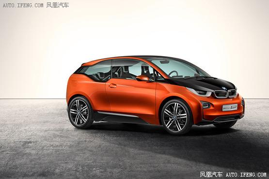 宝马i3纯电动车在美公布售价 约25万起