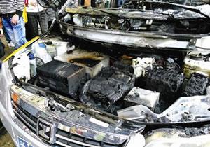 电动车自燃 新能源车前途引担忧