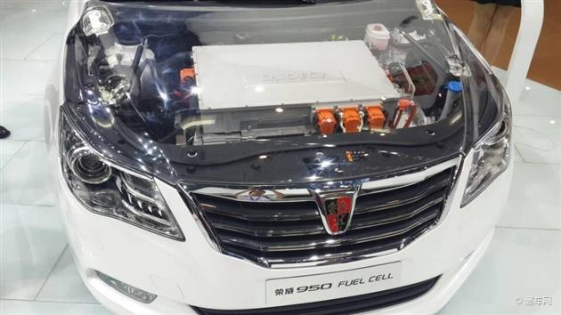 上汽荣威:北京车展无双950插电式电池燃料车发布大蛇2v车展图片