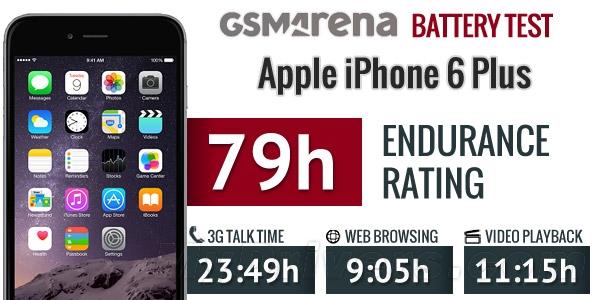 iPhone 6 Plus电池续航测试:实在太猛了