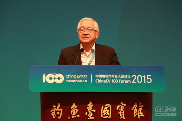 吴敬琏-中国电动汽车百人会学术委员会主席