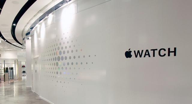 苹果宣布将于下月10日开设Apple Watch专卖店