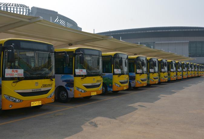 """福州创建""""公交都市"""" 今年新增250辆新能源公交"""
