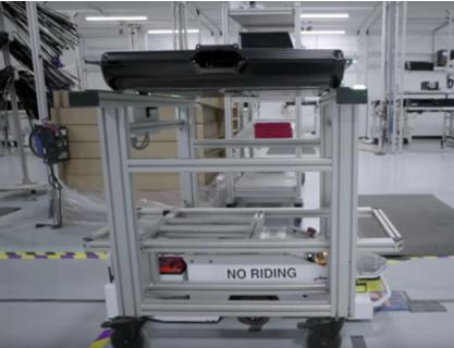 美国HBO电视节目:特斯拉Gigafactory内部图曝光