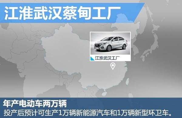 江淮17.6亿建新能源基地 年产2万辆电动车