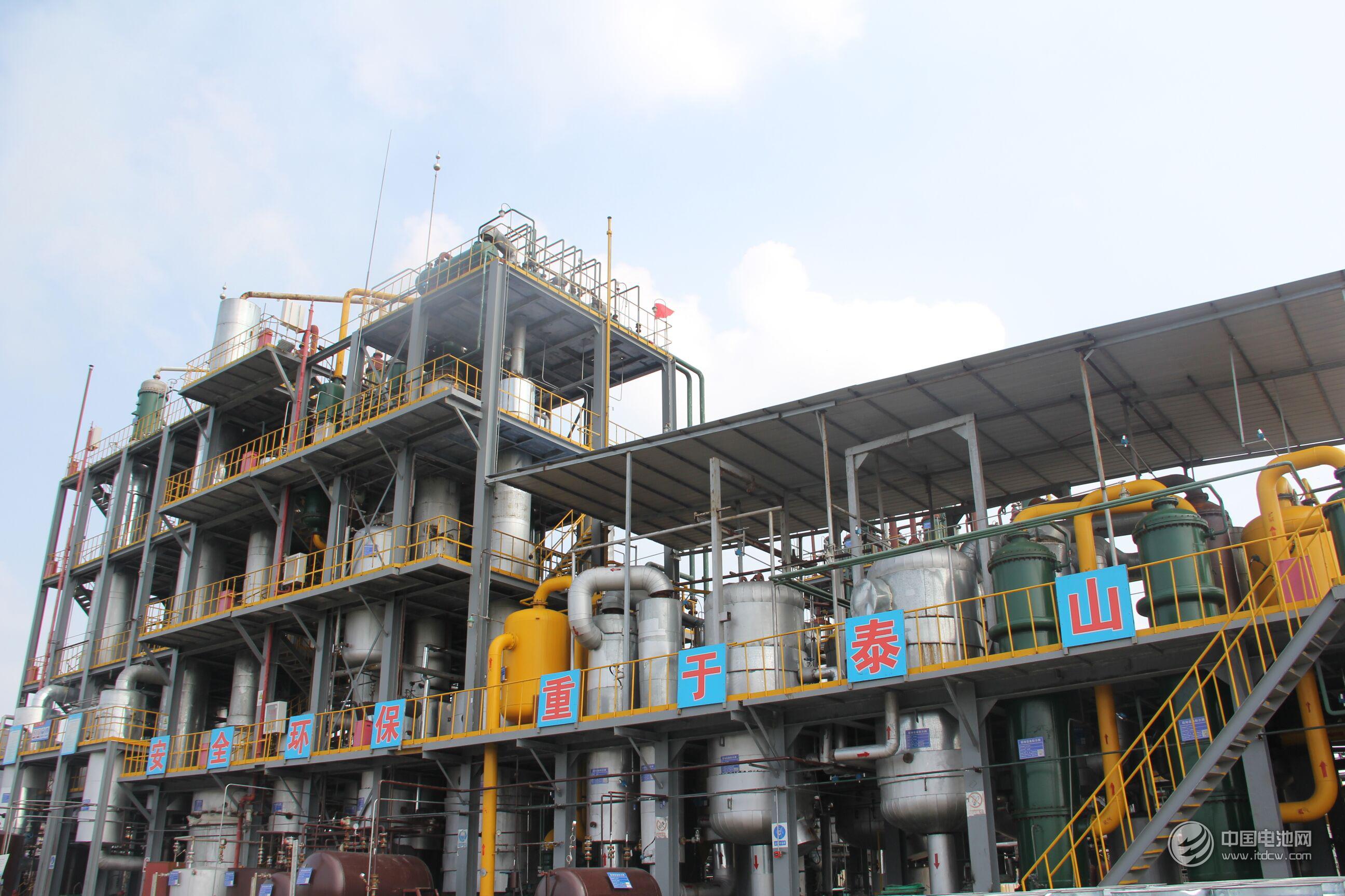 信敏惠集团全新布局28万吨NMP  助力中国锂电腾飞
