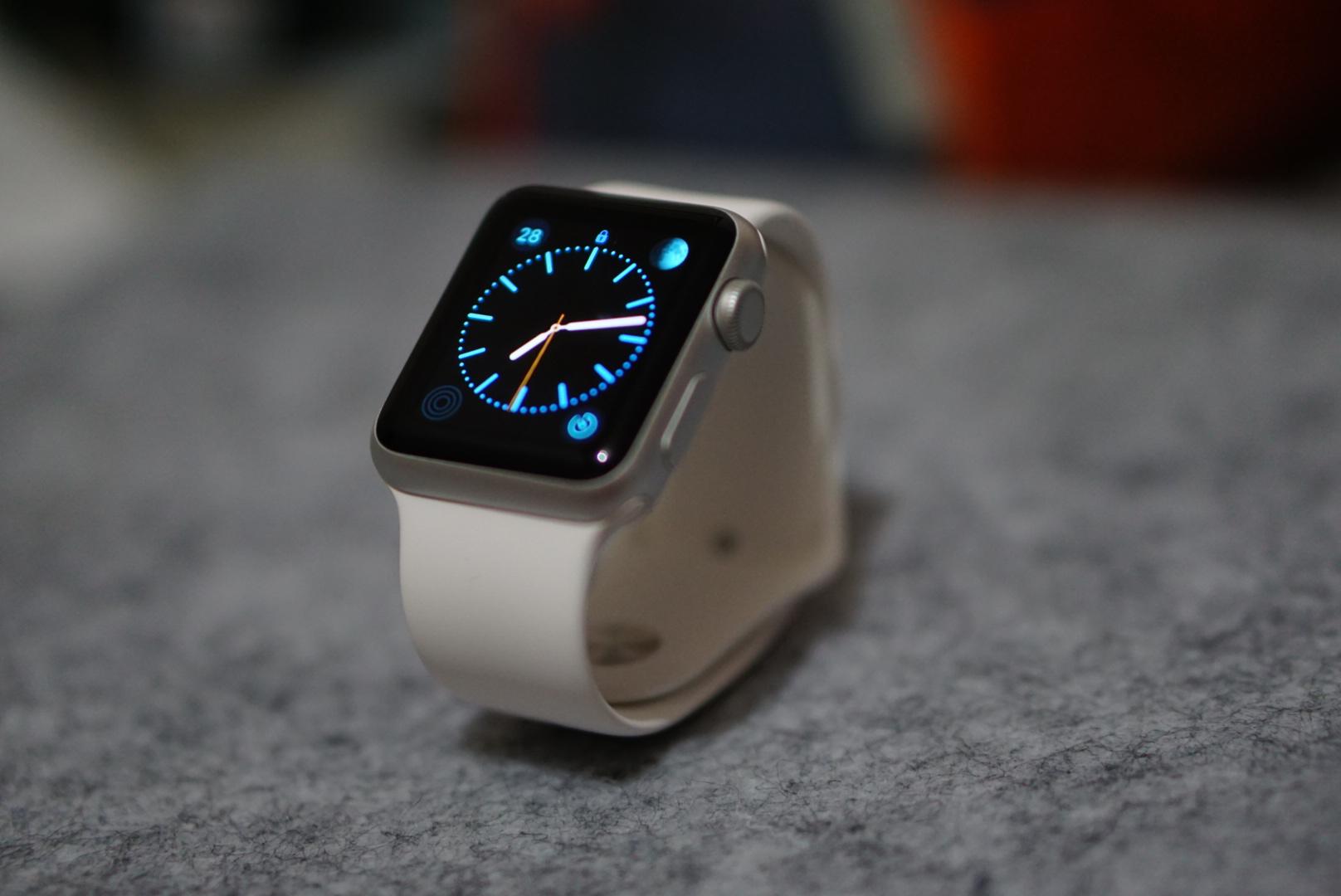 苹果信心满满?大幅增加Apple Watch 2的零部件订单