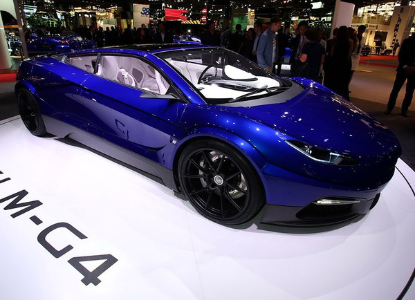 2016巴黎车展:电动超跑GLM G4正式亮相