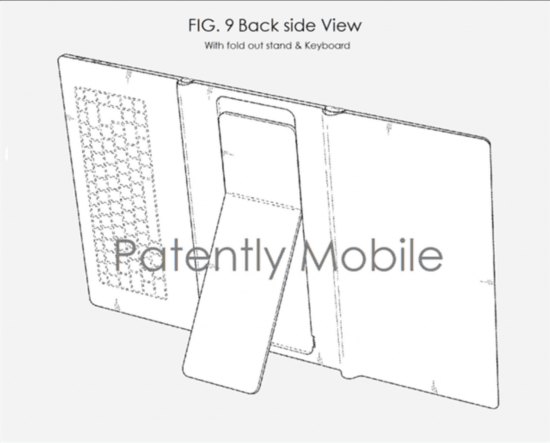 三星再获新专利:或推三段式可折叠平板电脑