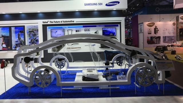 三星推出新电池 可支持电动车600公里续航