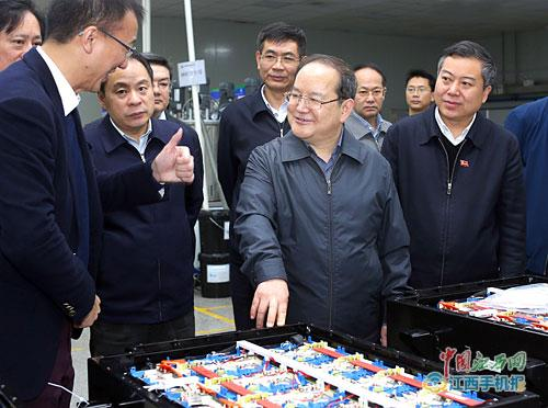 江西省省委书记鹿心社莅临远东福斯特参观调研