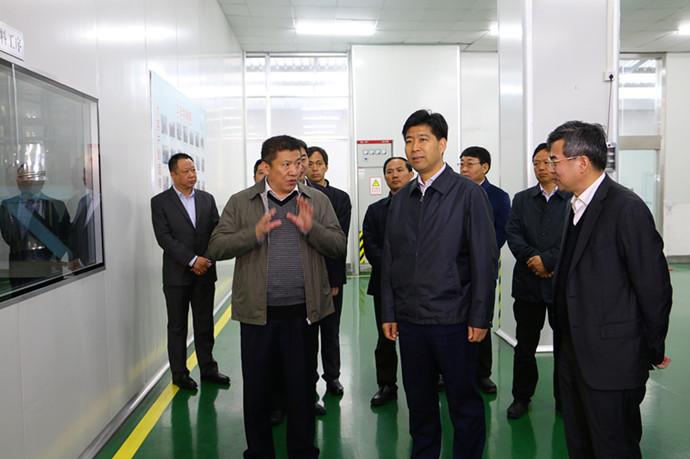 泰州市市委书记曲福田 视察并指导智航新能源