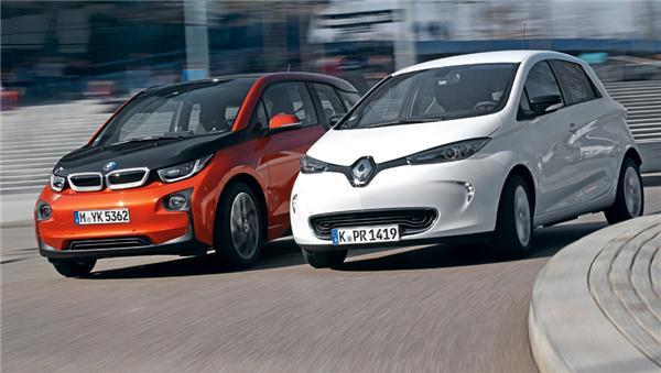 德国4月电动车销量暴增134% 宝马i3累计销售称冠