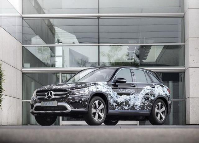 奔驰推新氢燃料电池车 2017法兰克福车展发布