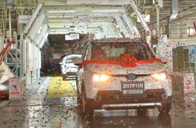 15000辆!青岛造新能源国民车单月产能破纪录