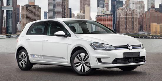 德国需求强劲 大众将e-Golf电动汽车产量再提一倍