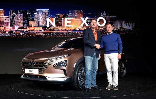 现代绑定自动驾驶与燃料电池SUV 预计2018年上市