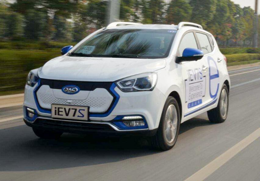 江淮新能源今年推5新车 挑战5万辆销售目标