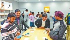 中国手机在印度吸粉:销售榜前十名九个为中国品牌