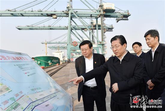 河北省委书记王东峰到沧州明珠调研 强调要创新绿色发展