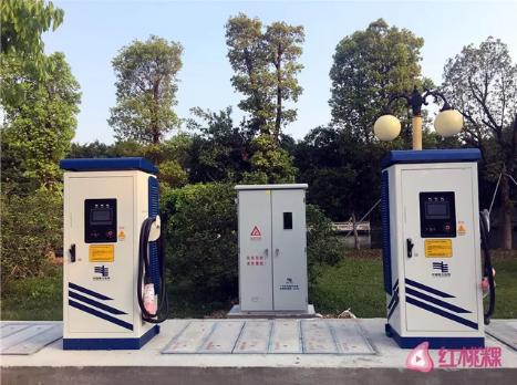 广东潮州新能源汽车号牌正式启用 充电桩已安装落地