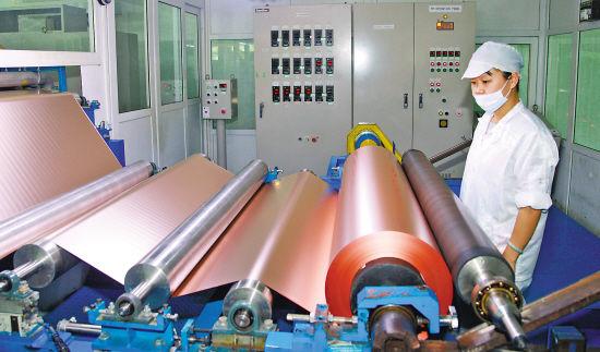 【铜箔周报】东阳花园集团年产5万吨高性能铜箔项目开工!今年铜产量将达180万吨!