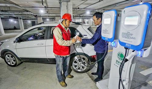 电动汽车能否助中国改善空气?美媒:需满足这两个条件
