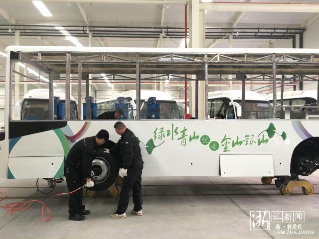 上中下游均覆盖  浙江湖州开发区打通新能源汽车产业链