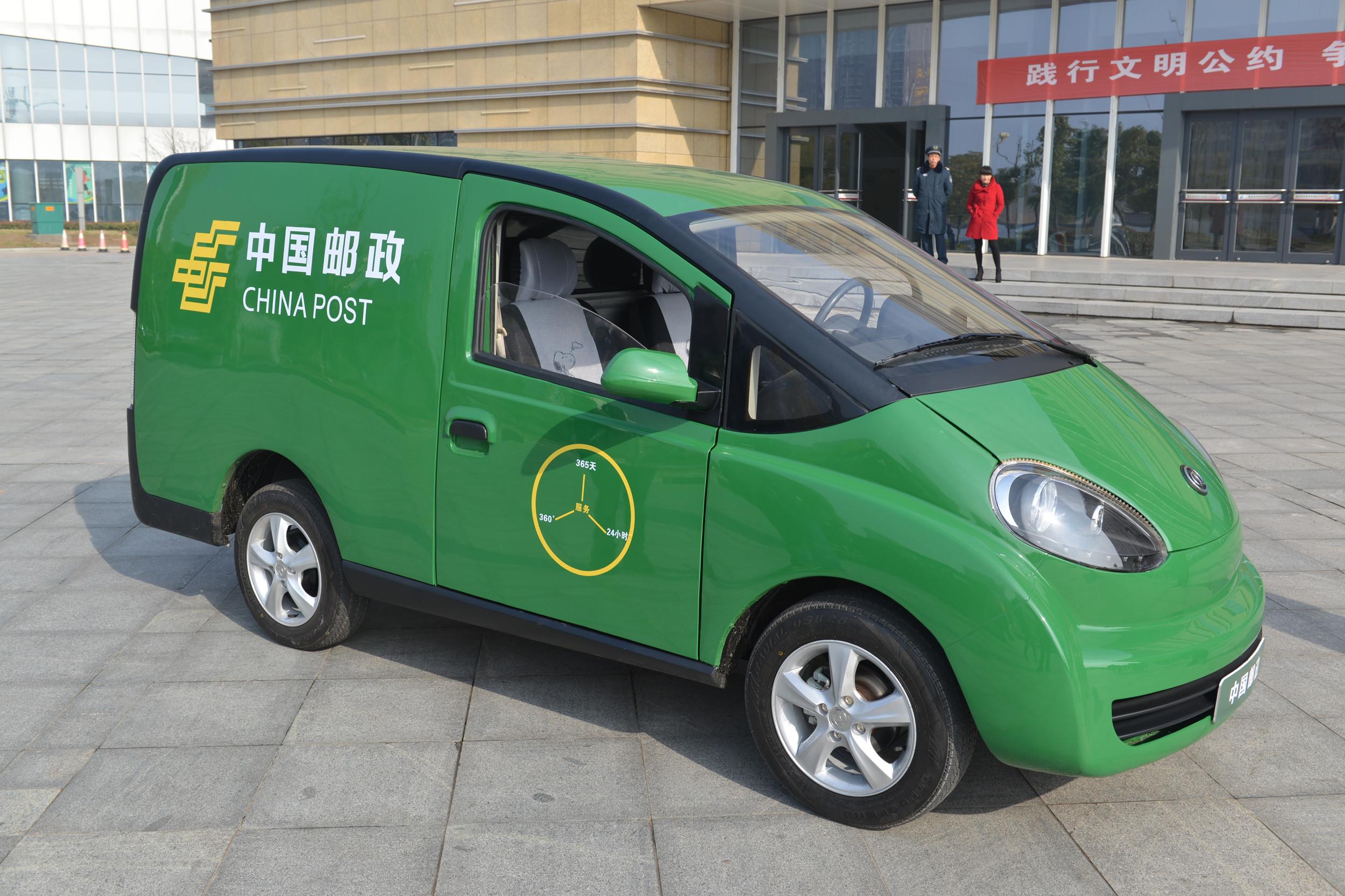 邮政新增投递车将全改新能源 正式启动绿色邮政行动