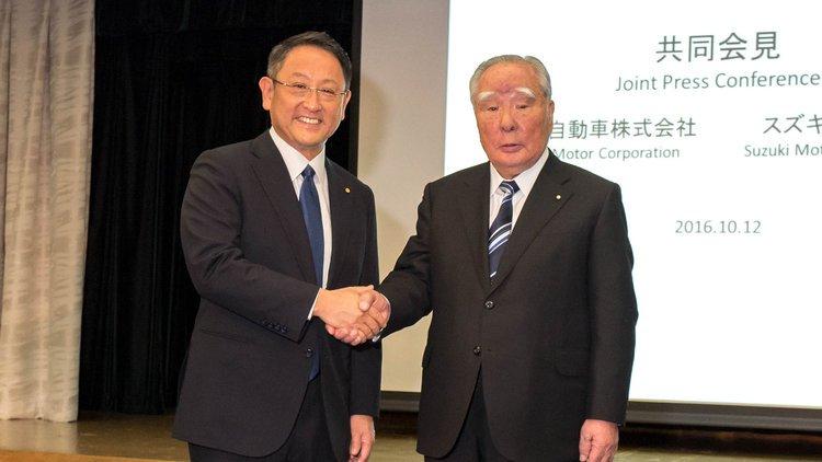 丰田与铃木将合作开发新能源汽车 主打印非市场