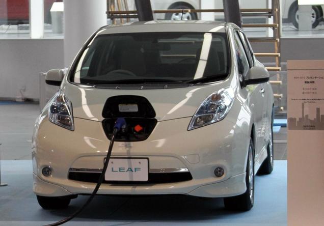 """日产计划增加电动汽车""""LEAF""""销量 设定目标4万台"""