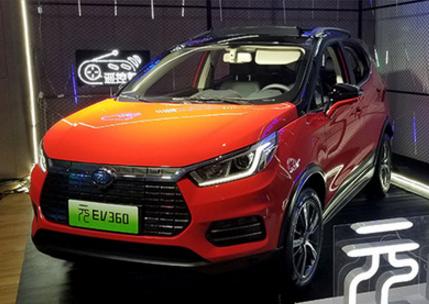 比亚迪5月新能源汽车销量增5成 达13388辆