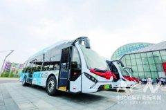三辆氢燃料电池大巴在江苏如皋上路 开县级市氢能公交运营先河