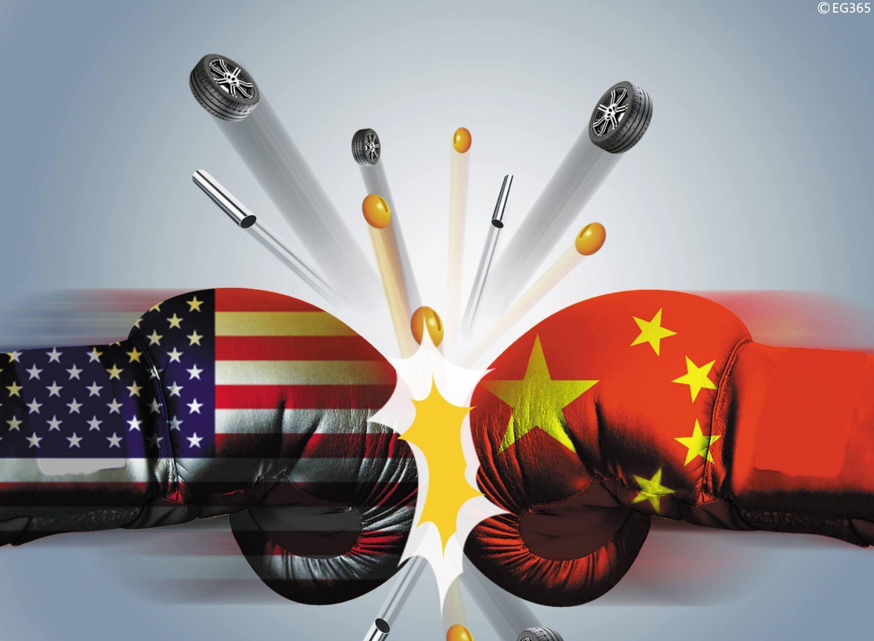 中国对原产于美国的500亿美元进口商品加征关税