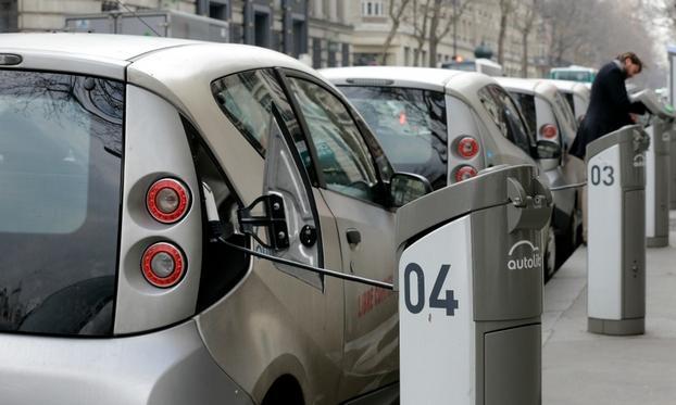 亏损3亿欧元  法国巴黎终止电动汽车共享计划