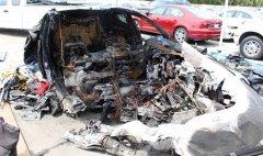 特斯拉Model S致命车祸:车辆被拖停车场后电池再次起火
